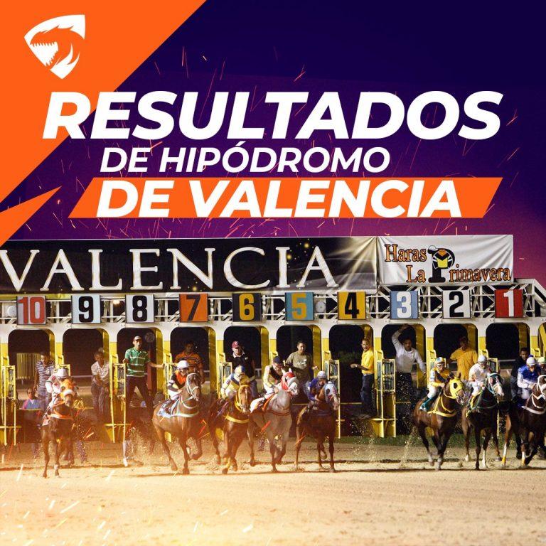 Resultados Valencia 17/04/2021